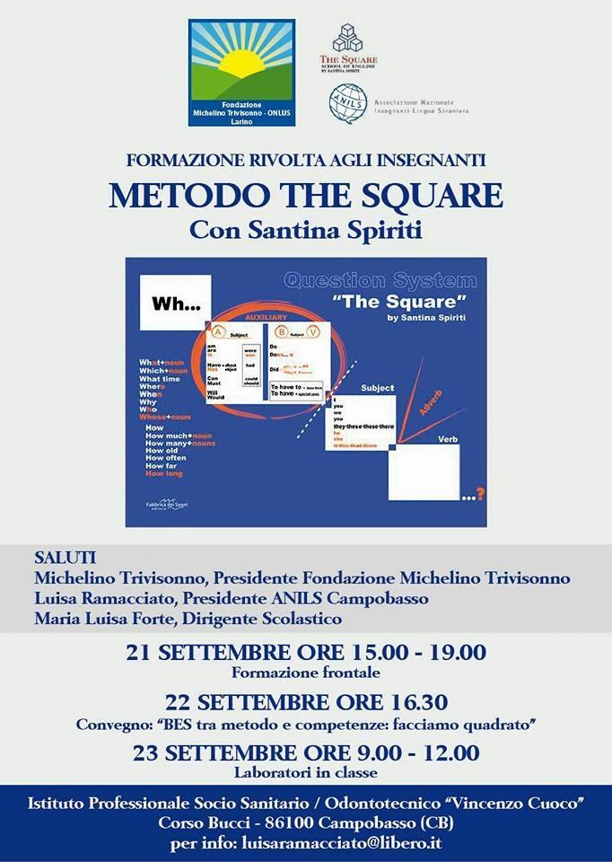 Linglese Si Insegna Con Il Metodo The Square La Rivoluzionaria