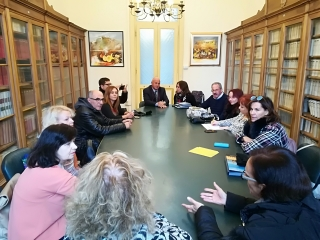 "Campobasso. In Comune i rappresentanti del progetto ""Tolerance our common language"""