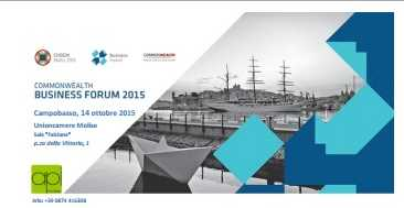 API Molise organizza la conferenza di presentazione del Commonwealth Business Forum Malta 2015